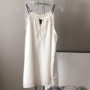 Tops - White tank blouse